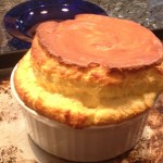 Cheese Souffle right out of the oven