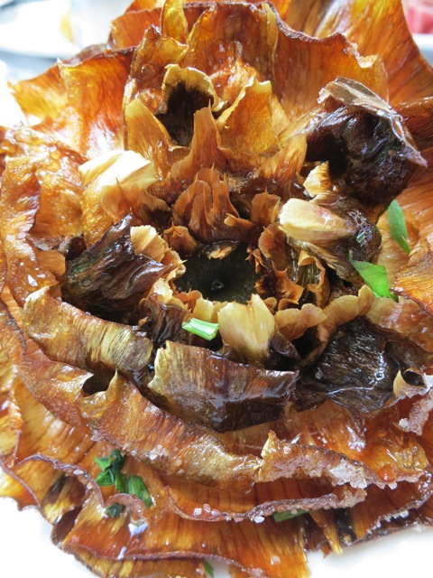 Fried Jewish Artichoke
